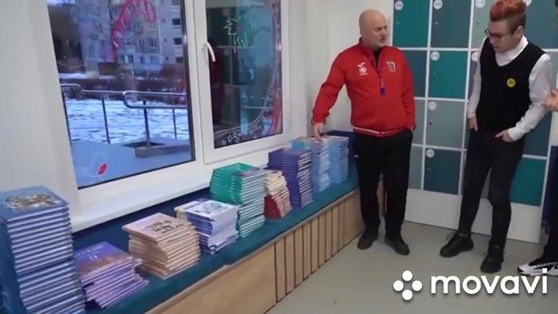 Иванов Денис в роли физрука в проекте А4