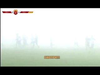 Матч «Динамо Ставрополь» — «Ессентуки» проходил в плотном тумане