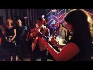 Live 6: #Поздравление от Александра Попова🎼 Средневековая флейта 🎶#Zouk #Bachata #Birthday 🎂🥂🍾 #dance #SPb #party 💃🏼🕺🥳  #Джанго