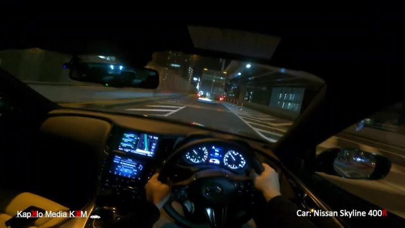 JDM Tokyo Shibuya Rte 3 Skyline 400R V37 スカイライン400R