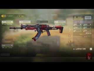 arkdown gaming Is this the best AK-47 build AK-47 - Red Action   - CoD Mobile