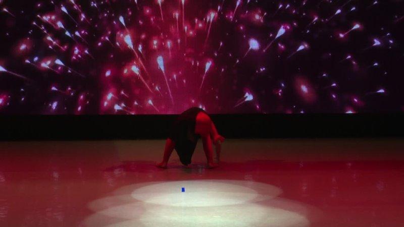 Пластика и пантомима Магия огня Студия эстрадной гимнастики «Фиолетовый кот», Нарбаева Мээрим и Катаева Полина