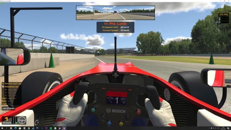 Gilles villeneuve circuit dallara F3