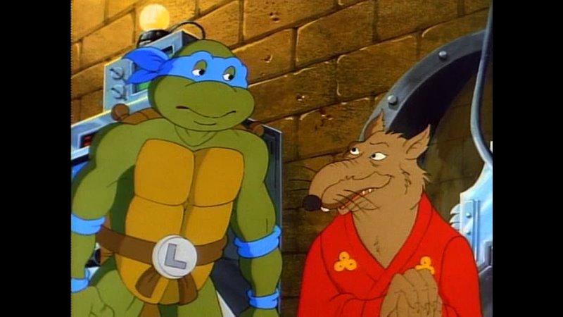 S04e32 Черепашки ниндзя 1990 Teenage Mutant Ninja Turtles The Dimension X Story Приключения в измерении Икс