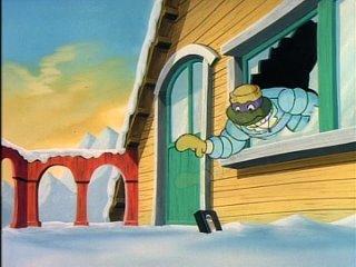. Черепашки-ниндзя (1990) / Teenage Mutant Ninja Turtles - A Real Snow Job (Настоящая снежная работа)