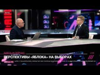 Николай Рыбаков о перспективах партии  Яблоко  на выборах (720p).mp4