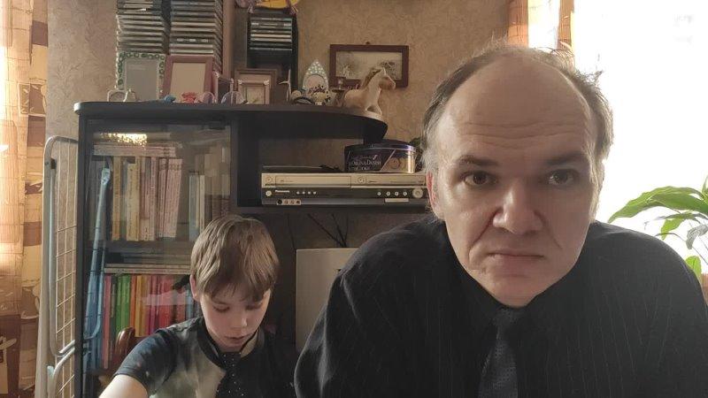 Читаем с Лёшей главу из повести Туве Янссон Шляпа волшебника