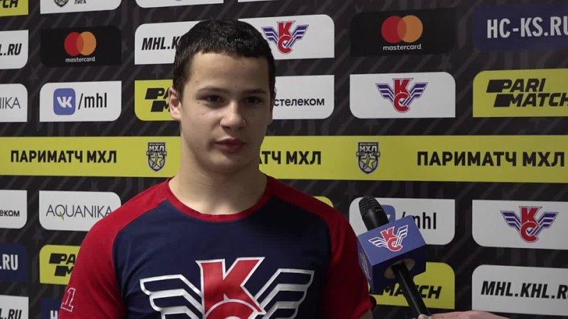 Владимир Полежаев Очень понравилось играть за молодёжку
