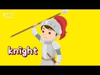 Kids vocabulary - Fairy Tale - Once upon a time - Learn English for kids