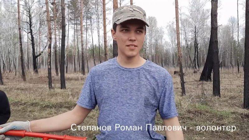 08 мая 2021 Сохраним лес Новосибирская область Искитимский район д Евсино