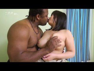 Mayuko Mayumi JAV Japanese Asian porn Big Tits Creampie Married Mature Woman Black Cock