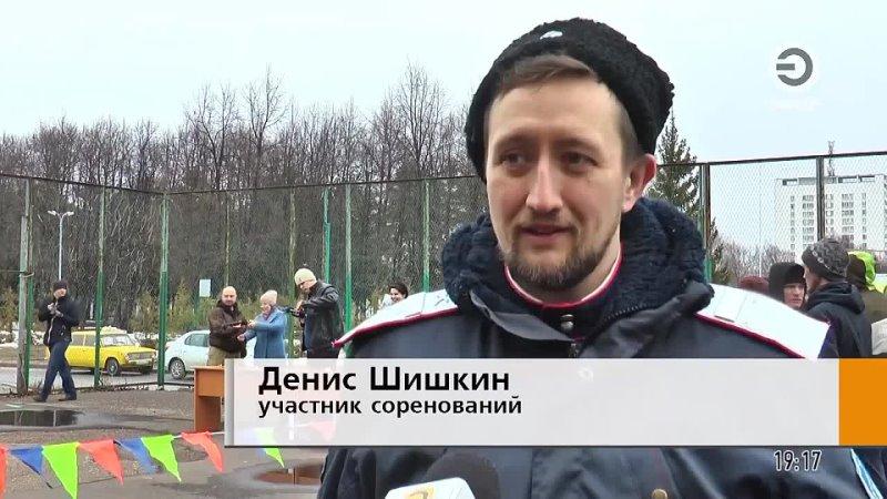 Соревнования по стрельбе из арбалета с участием казаков Боровецкого хутора