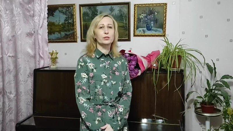 Людмила Лебедева читает стихотворение Н Гумилёва Старые усадьбы