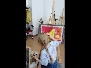 Групповое занятие по живописи