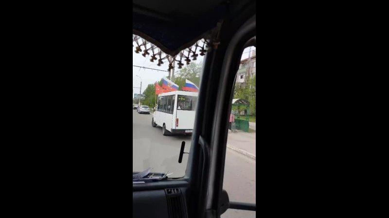 Маршрутка в Луганске