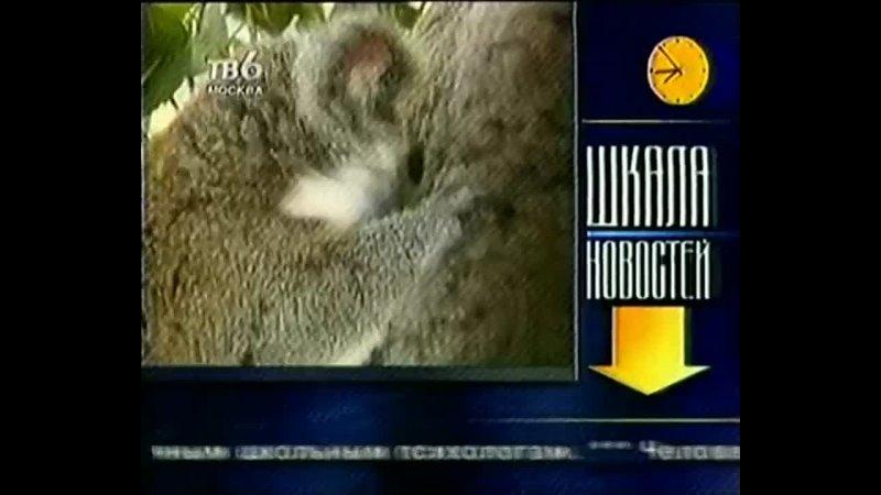 День за днём Шкала новостей ТВ 6 21 02 2000 2