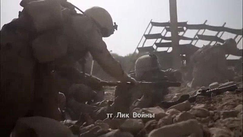 Военнослужащие американской армии во время засады боевиков талибана провинции Гильменд 2 июля 2009 года