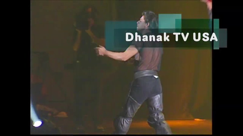 Shahrukh Khan Live Stage Stage Show in Miami Dhanak TV USA