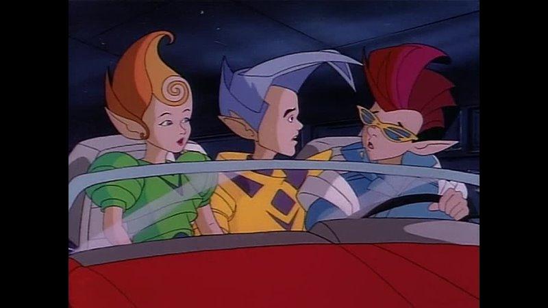 S02e11 Черепашки ниндзя 1988 Teenage Mutant Ninja Turtles 1988 Тинейджеры из измерения Икс Teenagers from Dimension X