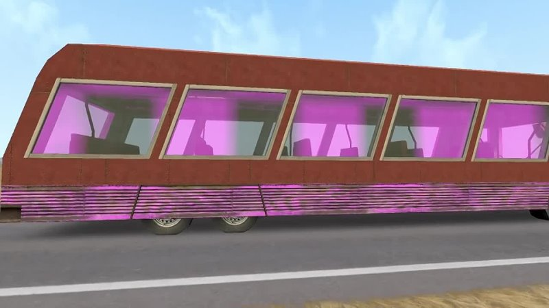 Spotman На автобусе по пустыне Garry's Mod VR