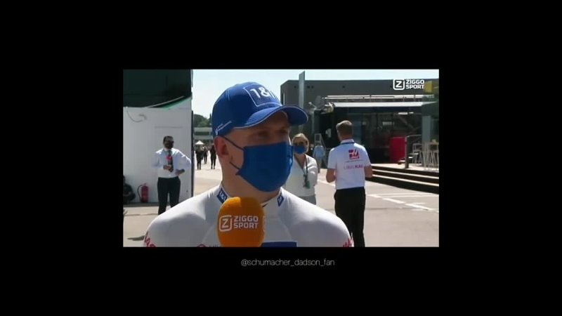 Mick for Ziggo post quali Spanish GP
