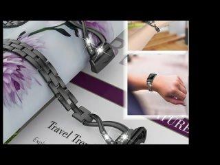 Женский металлический браслет fitbit charge 3 сменный ремешок для зарядки часов