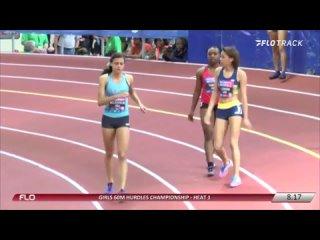 ЛА Sydney McLaughlin. 60mH -  Рекорд 2 курсов 2015