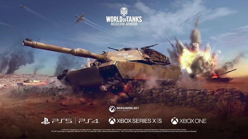 Техника холодной войны Представляем вам World of Tanks Modern Armor