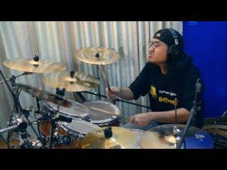 သတတရမစဖ - Velocity (Drum Playthrough) By Aung Thu Centent Cymbals Tang series