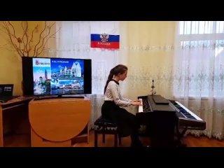 """Резанова Мариам """"Ночь в Париже"""" муз.Е.Дэвис"""