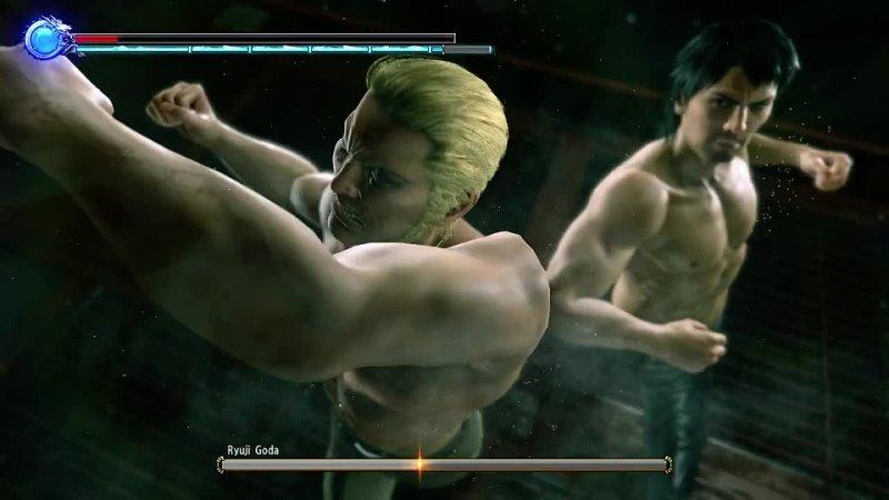 👹Yakuza Kiwami 2 Daigo Dojima vs Ryuji Goda Mod Final Battle🐲