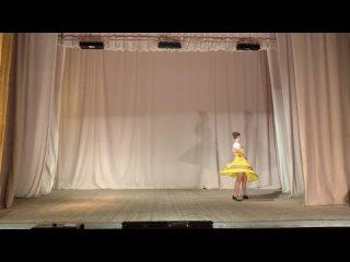 2109. Народный танец, соло (14-16 лет, 14 лет) Лобченко Виктория, г.Вичуга, Ивановская область Огневушка-поскакушка