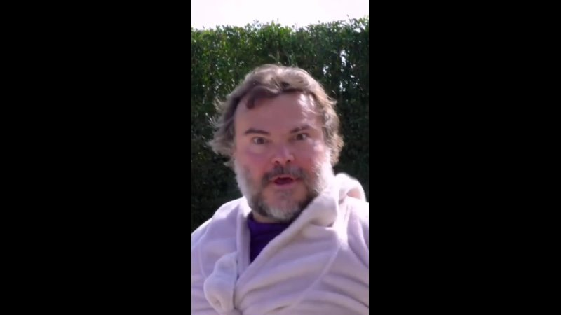 Джек Блэк делает косплей на сцену из фильма «Звёздные войны Месть ситхов»