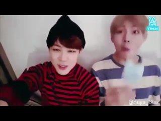 Ви из BTS и мороженое