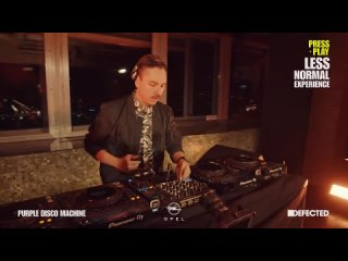 Purple Disco Machine - Live from Berlin (Opel x Defected Press Play Less Normal Experience )