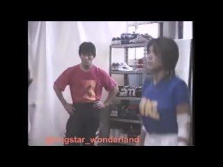 Arsion wrestlers train in Pancrase gym with Minoru Suzuki