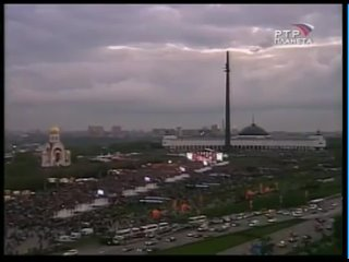 """Юлия Началова, и группа Непоседы с песней """"Катюша """" Moscow"""