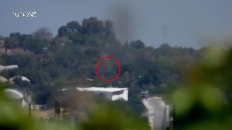 Бригады Изз ад Дин аль Кассам уничтожают израильский военный джип при помощи ПТРК Корнет Двое убитых