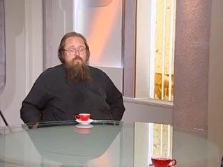 [Мультиблог протоиерея Димитрия Смирнова] Протодиакон Андрей Кураев. Диалог под часами.