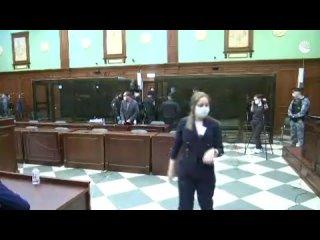 Заседание суда по делу Навального