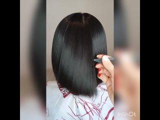 Кератиновое выпрямление и восстановление волос для Елены