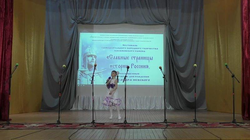 Веселая песенка муз А Ермолова сл В Борисова исп Полина Ильина Крюковский с к