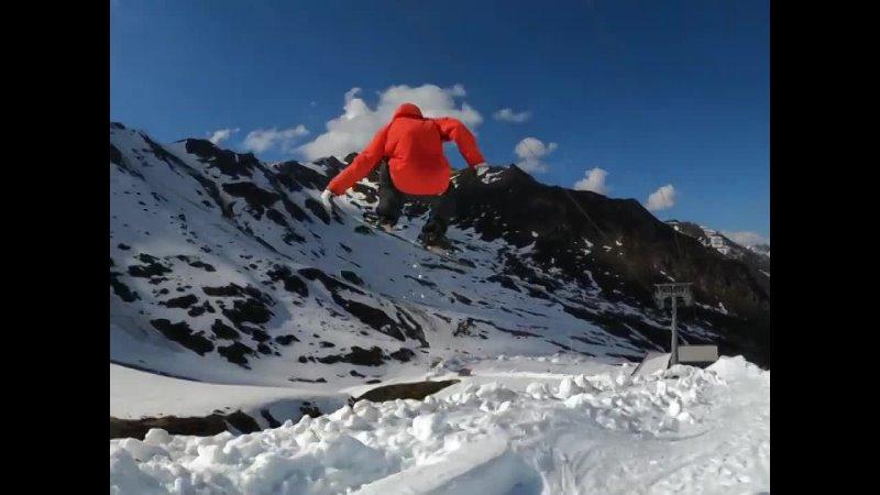 Steve Gruber for K2 Snowboarding