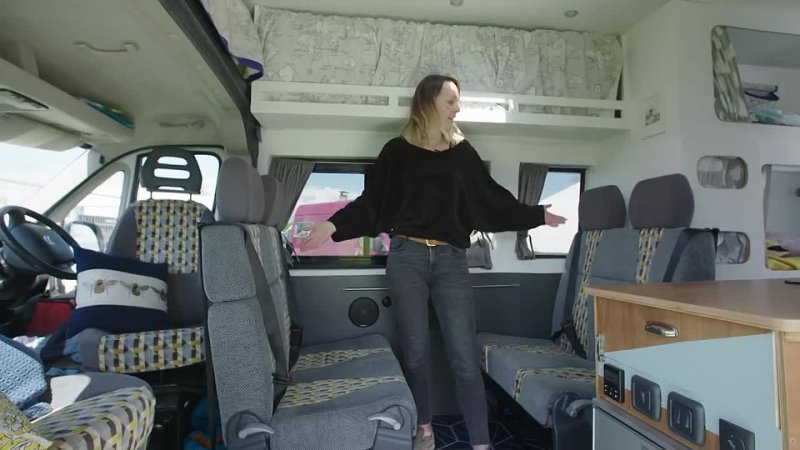[Nate Murphy] Van Conversion with TRIPLE BUNK BEDS 6 Belted Seats | 👨👩👦 ULTIMATE FAMILY Camper 🚐