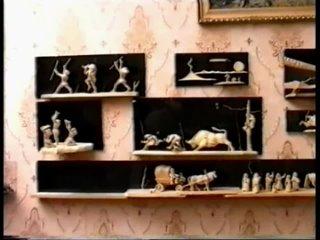 Эхо (ТВ-8 [г. Саяногорск], 6 апреля 1996) Резчик по дереву Виктор Николаевич Равнушкин [исходник]