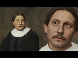 Ожившие портреты великих путешественников, первооткрывателей и исследователей мира. Часть Ⅰ