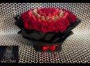 Премиум Букет Клубника с Голландскими Розами