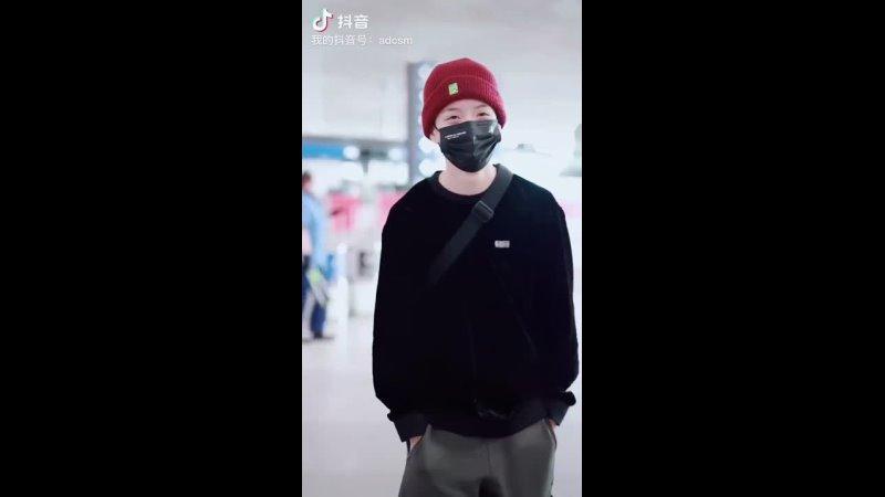 Amber at Beijing Airport 210508