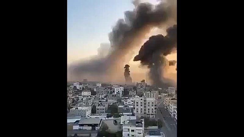 Утренние удары по Газе Израиль сообщает об уничтожении тоннелей Хамаса