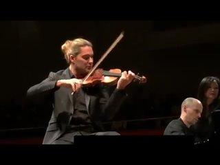 David Garrett  Julien Quentin_Brahms Sonata No 2 Humburg, Laeiszhalle,